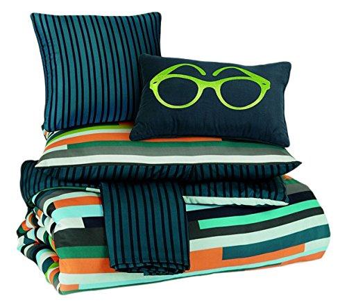 Ashley Furniture Signature Design - Seventy Comforter Set - Includes Comforter, 2 Shams, 1 Bedskirt, & 2 Accent...