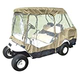 Formosa Covers Premium Tight Weave Golf Cart Driving Enclosure 2...