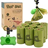 "Value Pack - The box comes with 135dog poo bags on 9 refill rolls with 1 free dispenser and leash clip. Supports Small to Large Dogs - These puppy poop bags are 9""x 13"" in size which make it easier to pick up and safely store messy feces and deposits..."
