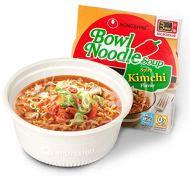 Noodles lamen importado da coreia - nongshim bowl soup kimchi - macarrão instantâneo