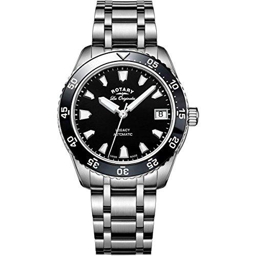 Rotary Legacy Automatik Schweizer Uhr für Damen
