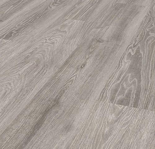 Pavimento in Laminato Rovere Grigio Confezione Da 2.47 Mq   AC3