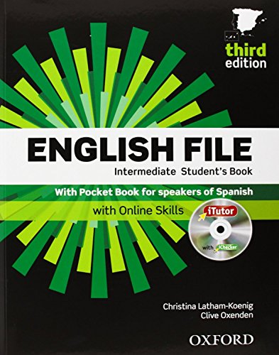 English File 3rd Edition Intermediate. Student's Book + Workbook with Key Pack (English File Third E