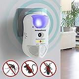 SHOP-STORY - 5-en-1 Répulsif Anti-Insectes - Repulse par Ultrason...