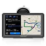 AWESAFE GPS Voiture Auto Europe 7 Pouces Ecran Tactile Bluetooth...