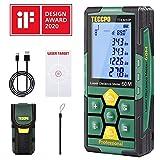 Télémètre laser 50m TECCPO, USB 30mins Charge...
