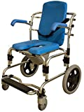 Baltic Professional Transport Shower/Commode Chair-Padded