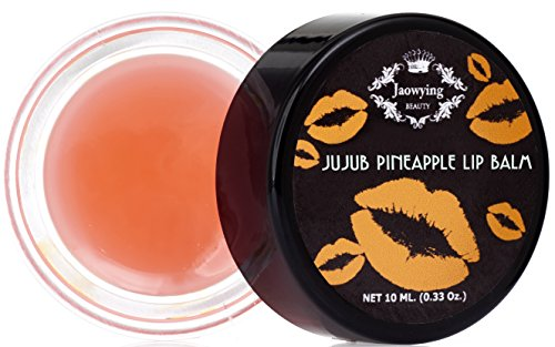 Pineapple Lightening Lip treatment for Dark Lips - Rich shea butter, Softens, Hydrates and Nourishes - Net 0.33 Oz (10 g.)