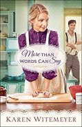 More Than Words Can Say (A Patchwork Family Novel Book #2) by [Karen Witemeyer]