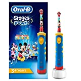 Oral-B Stages Power Kids de Mickey Mouse - Cepillo de dientes eléctrico