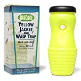 BioCare Reusable Outdoor Yellow Jacket and Wasp Trap with Bait