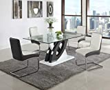 Milan Sophie Double 'O' Dining Table