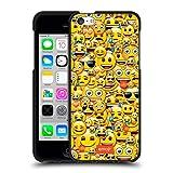 Head Case Designs Officiel Emoji Smileys Modèles Pleins Coque Noir en Gel Doux...
