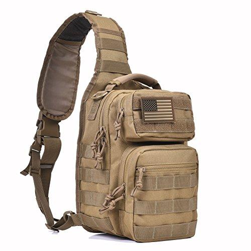 Tactical Sling Bag Military Single...