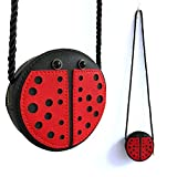 Little Girls Purse Ladybug Bag Mini PU Leather Crossbody Bag Coin Pouse for Kids Girls Gift
