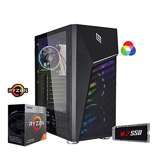 Pc Gaming ryzen 3,scheda video radeon Vega 8,Ram 8gb ddr4,Ssd M.2 256 Gb,Alimentatore 80...
