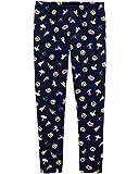 Osh Kosh Girls' Kids Full Length Legging, Navy Emojis, 14