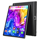 Tablet 10 Inch Android 9 HD Dual Sim Tablets with Quad Core, 32GB ROM /128 GB Expand, 3G Phone Call, WiFi, Bluetooth, Dual Camera, GPS, IPS Touchscreen, GMS Google Certified Tablet PC, (Black)
