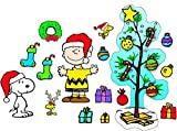 Eureka's Charlie Brown Christmas Bulletin Board Sets, Back to School Classroom Supplies, 18'' x 28'', 27 pc.