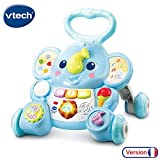 VTech - Éléphanteau Trottino – Trotteur Interactif pour Apprendre à...