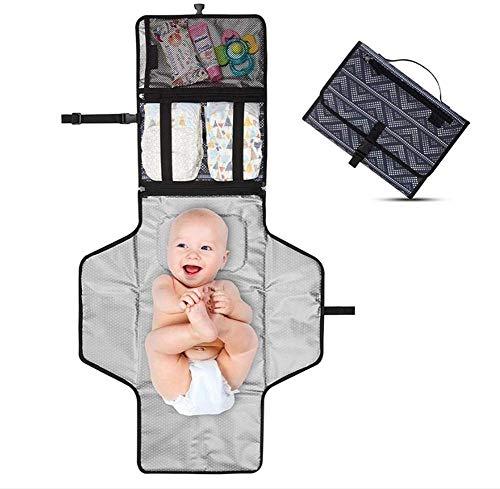 Fasciatoio Portatile Pieghevole Da Viaggio Per Neonato MPGEN Impermeabile Imbottito Materassino Bambino Ottima Idea Regalo