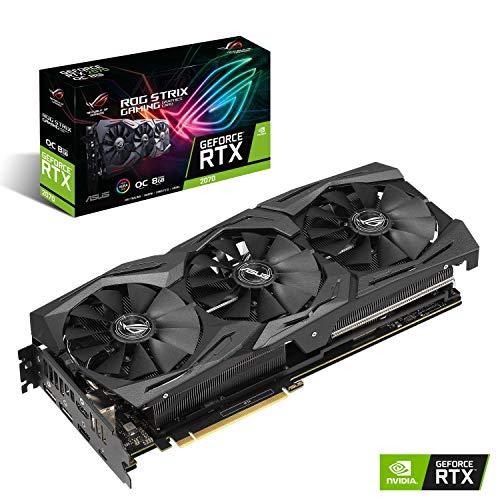 ASUS NVIDIA GeForce RTX 2070搭載 トリプルファンモデル 8GB ROG-STRIX-RTX2070-O8G-GAMING