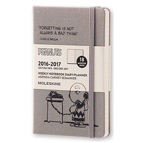 モレスキン 手帳 限定版 ピーナッツ 2016-2017 7月始まり ウィークリー ポケット DPE18WN2Y17