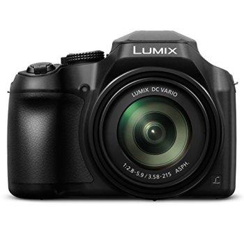 PANASONIC Lumix FZ80 4K Digital Camera (Black)