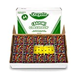 Crayola Crayon Classpack, Reg Size, 64 Colors, Pack of 832