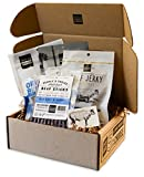 People's Choice Beef Jerky - Jerky Box - Simple & Savory - Unique Gift for Men - Protein Snacks Military Care Package - Best Father's Day Gifts for Him - Meat Snack Sampler Gift Basket - 4 Bags