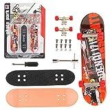 QNFY Planche à roulettes de Doigt, Assemblage de Bricolage Finger Board Deck...