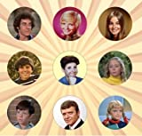 The Brady Bunch Set of 9 - 1 Inch Pinback Buttons