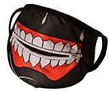MIUMIKO MIUNIKO Unisex Cute Cartoon Anime Tokyo Ghoul Kaneki Ken Mask Outdoor Cosplay Halloween Accessories (With Zipper)