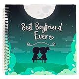 Best Boyfriend Ever Memory Book. The Best Romantic Anniversary Gift...
