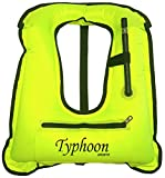 Typhoon Sports Inflatable Snorkel Vest Safety Jacket Horseshoe Design...