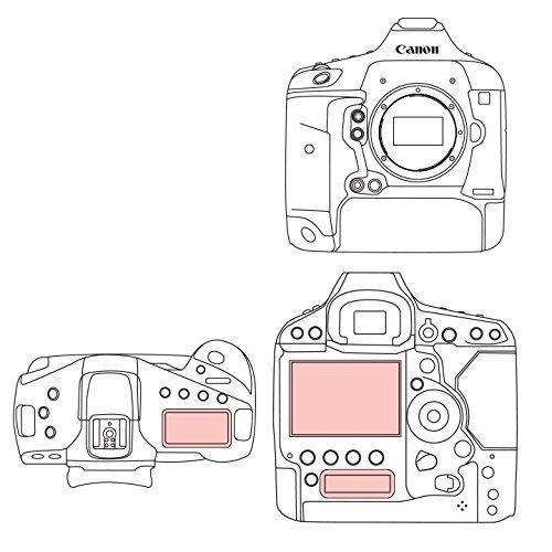 Martin Fields (マーティンフィールド) Overlay Plus 液晶保護フィルム ガラスコート Canon スクリーンプロテクター 日本製素材 (EOS 1D X Mark II)