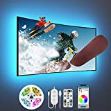 Govee TV LED Backlight, 10FT LED Lights for TV with App and Remote Control, Music Sync, DIY and Scene Modes, RGB Color Changing TV Backlight for 46-60 inch TVs, Computer, Bedroom, USB Powered