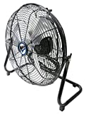 Maxx Air HVFF14UPS Multi Purpose High Velocity 3-Speed, 14' Metal Floor Fan