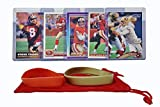 Steve Young Football Cards (5) Assorted Bundle - San Francisco 49ers Trading Card Gift Set