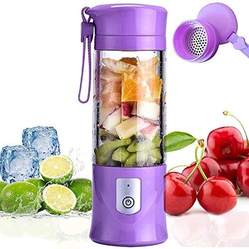 Portable Mixeur des Fruits Rechargeable USB,Mini Blender Pour Smoothie,...