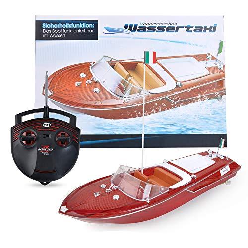 Maximum RC | Motorboot in toller Holzoptik | Ferngesteuertes Boot für Kinder | einfachste Steuerung