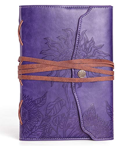 Purple Journal for Women - Beautiful Journals to Write in -...