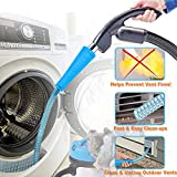 BoxLegend Dryer Vent Cleaner Kit Dryer Vent Cleaning Kit Vacuum Hose Attachment Brush Lint Remover Power Washer and Dryer Vent Vacuum Hose