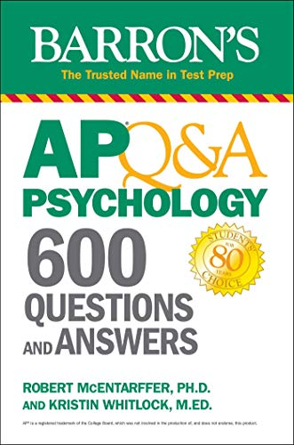 AP Q&A Psychology: 600 Questions and Answers (Barron's Test...