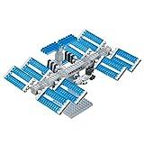 Costruire il vostro molto proprio Miniature Space Station Contiene oltre 100Micro-sized building blocks Un' opera d' arte 3d crea dettagli con diverse dimensioni e pezzi colorati Raccogliere, creare e visualizzare il opere d' arte Include istruzioni...