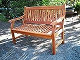 New Jersey Gartenbank 2-Sitzer  Sitzbank  Holzbank  Eukalyptus - 2