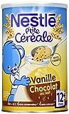 Nestlé Bébé P'tite Céréale Chocolat au Lait Vanille Céréales...