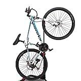 ZUKVYE Bike Rack Floor Stand, Indoor Bicycle Storage Mount(fit 20-27 Inch Bikes),Road Bike Storage - Space Saving