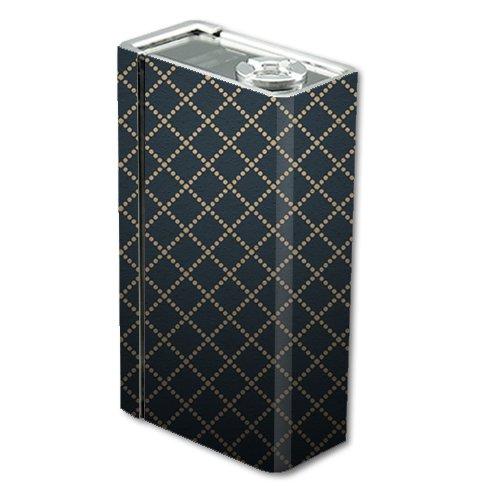 Skin Decal Vinyl Wrap for Smok Xcube 2 BT50 Vape Mod Box / Dotted Diamonds