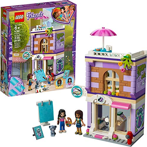 LEGO Friends Emma's Art Studio 41365 Building Kit (235 Pieces)